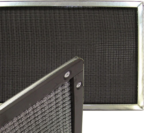 magnetic strip on prevent model r air filters