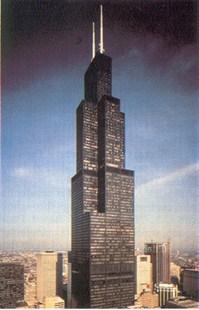 sears tower using custom air filters