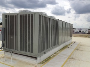 100 ton Trane rooftop unit