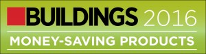 Winner as a Money-Saving Product by Buildings Magazine